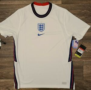 Nike England Home Soccer Jersey 20/21 Men's Size Large CD0697-100