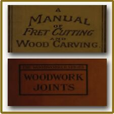 270 Old Woodworking Books on DVD - Carpentry Wood Carving Lathe Turning Plans C9