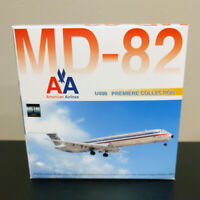 Dragon Wings 1:400 American Airlines McDonnell Douglas MD-82 CHROME 55256B MD80