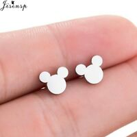 Mickey Earrings Cartoon Mouse Stud Earrings Fashion Animal Earring Mothers Gift