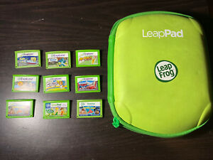 leapfrog explorer games w/ carrying case - 9 Games - Leappad Games