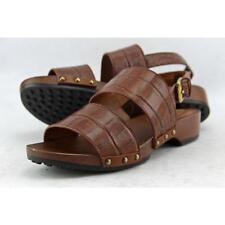 Sandali e scarpe Tod's marrone per il mare da donna