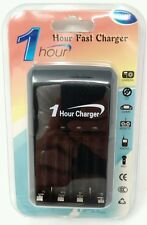 LOT OF 2 AA AAA Ni-MH 1 Hour Quick Battery Smart Chargers NIMH   ***US SELLER***