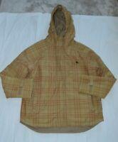 Burberry Blue Label Brown Nova Check Vintage Jacket Zip Through Mens Medium
