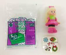 Sally Secrets Mini Doll w/Stickers '93 New Totally Toy Holiday Stocking Stuffers
