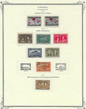 Canada - two mint maps and some Tercentenary issues