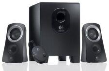 Logitech Computer Speaker System with Subwoofer 50W 25 RMS - Black (Z313) ™