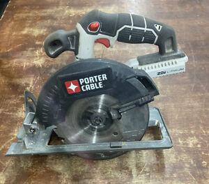 "Porter-Cable 20V MAX Li-Ion 6 1/2"" Circular Saw (Tool Only) PCC660B NEW"