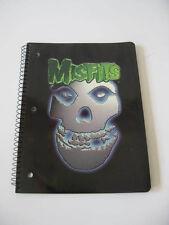 The Misfits Band Crimson Ghost Spiral Notebook Paper Inside Design Punk