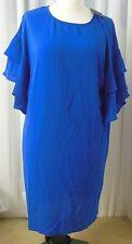Y.A.S Yasdysta Dress Damen Kleid Blau Größe M