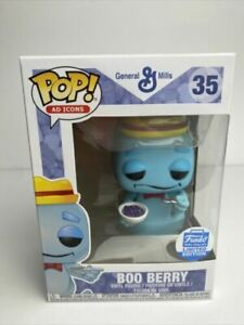 Funko Pop! Ad Icons General Mills #35 Boo Berry Funko Shop Excl. W/Protector