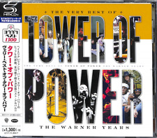 TOWER OF POWER-THE VERY BEST OF TOWER OF POWER : THE WARNER...-JAPAN SHM-CD C41