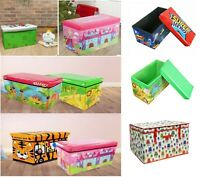 Large Kids Books Clothes Laundry Bedding Chest Tidy Children Toy Storage Box Bag