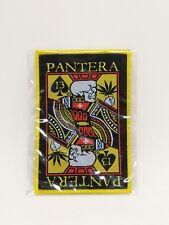 PANTERA music band large patch t-shirts,Jacket Iron on Woven Badge U.S Seller