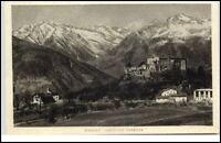 Merano Meran Italien Südtirol AK ~1920/30 Castello Verruca Partie an der Burg