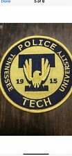Tennessee Tech University Police Patch