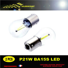 p21w led cob 6000k blanc pur protection verre new 2018 *
