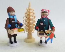 Nußknacker hussard rouge lasiert nouveau les monts Métallifères seiffen art populaire Noël