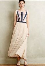 Anthropologie Dawning Maxi Dress By Maeve Retails $188.00 4 Petite