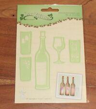 Leane Creatief coupe die 2304 vin bouteille & verre