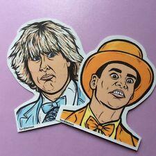 Dumb and Dumber Sticker Pack Pop Art Turddemon movie Pastel Tuxedos Harry Lloyd