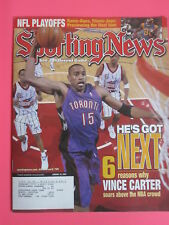 VINCE CARTER toronto rapters The Sporting News magazine January 24, 2000