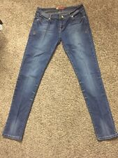 Apple Bottoms Jeans Womens Skinny Stretch Size 11/12