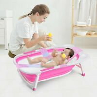 Baby Folding Collapsible Portable Bathtub w- Block