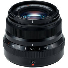 Fujifilm XF 35mm F2 R Camera Lens w/ Hood Fuji X Mount Fuji f/2.0 R WR Mirrorles