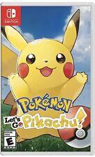 Pokemon: Let's Go, Pikachu Nintendo Switch