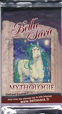 BOOSTER BELLA SARA - EDITION MYTHOLOGIE - NEUF - 5 CARTES -