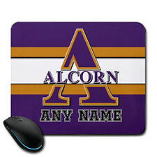 Alcorn State Braves NCAA Personalized Name Mousepad Gift