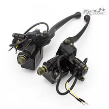 Motorcycle Master Cylinder Hydraulic Brake Control Clutch Lever For Honda Suzuki