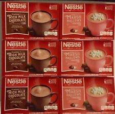 Nestle Rich Milk Chocolate & Mini Marshmallows Hot Cocoa Mix 6 Packs 36 Count