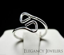 Adjustable .925 Sterling Silver Dainty Clip Style Simple & Elegant Toe Ring