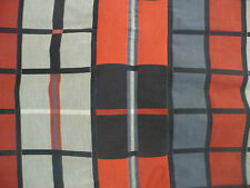 Red Blue Black Tartan Check Fabric ready to sew 110cm x 160cm