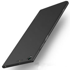 360° Full Cover Matte Soft TPU Ultrathin Luxury Slim Back case For Sony Xperia