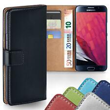 HANDY TASCHE Samsung Galaxy S6 Edge Plus S5 S4 S3 BOOK CASE SCHUTZ HÜLLE COVER