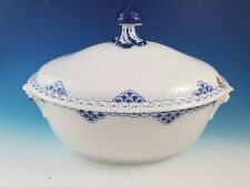 Royal Copenhagen Princess Porcelain Covered Soup Tureen Bowl #182 and #183
