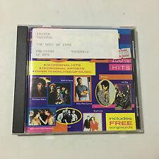 The Best of 1992 ..100% Hits CD_ Polystar _Very Good _Ugly kid Joe , Prince...