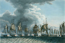 """oil painting handpainted on canvas """"a scene from the Battle of Lake Erie""""@N5102"""