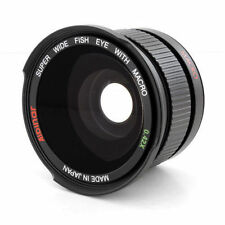 WIDE ANGLE FISHEYE LENS .42x + Macro for Canon GL1,GL2,XM2 camcorder,Japan made!