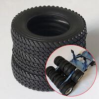 1 Paar 75mm Gummi Reifen Rubber Tires für 1/14 TAMIYA RC Tractor Truck Upgrade