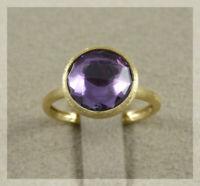 MARCO BICEGO Jaipur elegante anello ametista nuovo