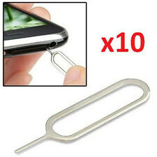 Lot 10PCS Sim Card Tray Remover Ejector Pin Key Tool for Apple iPhone 6s 5S 4S