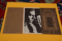 LP SOLO COPERTINA SENZA DISCO BRUNO LAUZI AL CABARET 1° DISCO 1965 EX GATEFOLD C