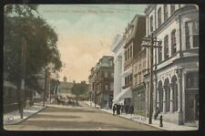 Postcard HALIFAX Nova Scotia/CANADA  George St West Business Storefronts 1905?