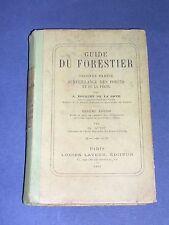 Pêche Chasse guide du forestier. surveillance des forêts et de la pêche 1906