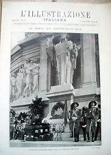1928 RIVISTA 'ILLUSTRAZIONE ITALIANA' CON LA MORTE DEL MARESCIALLO DIAZ