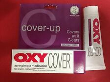 25g OXY Cover  - 10% Benzoyl Peroxide Acne Pimple Medication -Covers as it clear